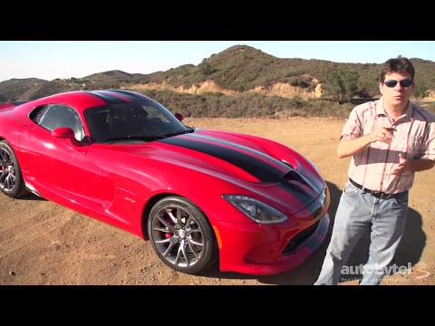2014 Dodge SRT Viper GTS Test Drive Video Review