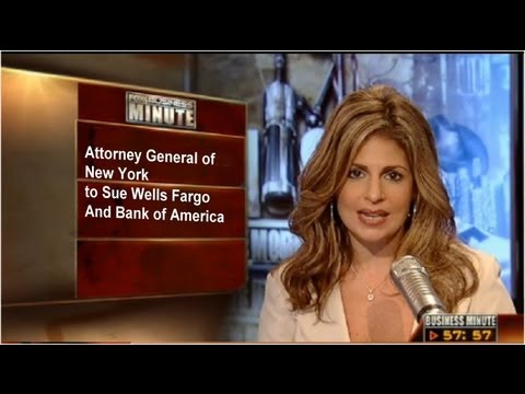 NY Attorney General to Sue Wells Fargo And Bank of America - Mortgage Foreclosure Fraud