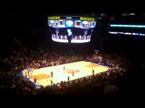 Carmelo Anthony half court buzzer beater on record setting 62 point night
