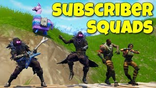 Open Lobby w/ Subscriber Squads! (Fortnite Game Night #5)