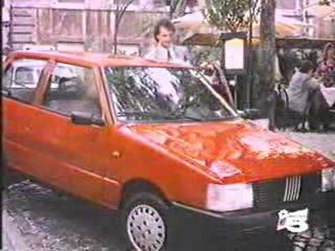 Fiat Uno commercial