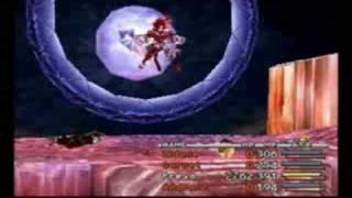 Final Fantasy IX Freya beating Trance Kuja in one move