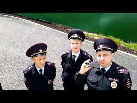 И снова на 6км МКАД нагрянула полиция: Вручение уведомления