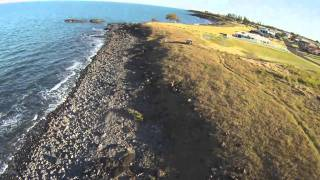 Hexacopter with HeroCamHD at Double Rock