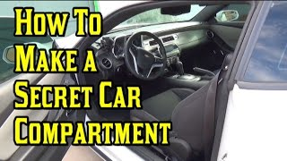 How To Make a Secret Compartment Inside Your Car | Nextraker