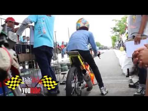 Hendra Kecil Drag Bike Satria Fu 200cc Creampie Jogjakarta | Knalpot-racing video