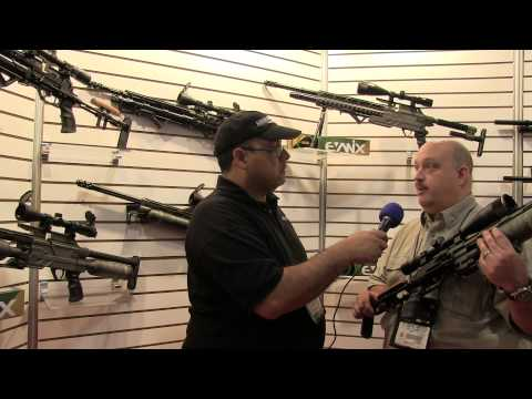 SHOT SHOW 2014 - Evanix goes .45 and .50 for 2014! - AirgunWeb Interview