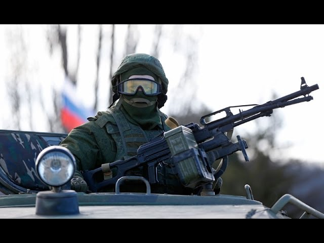 World War 3 : Tensions High as the Bear of Gog and Magog invades Crimea Ukraine (Mar 03, 2014)