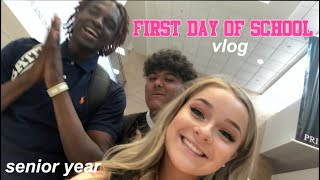 FIRST DAY OF SCHOOL VLOG *senior year*