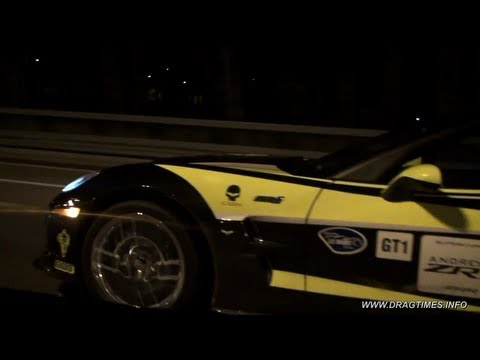 Chevrolet Corvette ZR1 vs Nissan GT-R Switzer R800 Music Videos