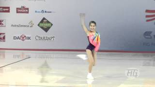 Yuka FURUKYO (JPN) - Aerobic World Age Group 2012