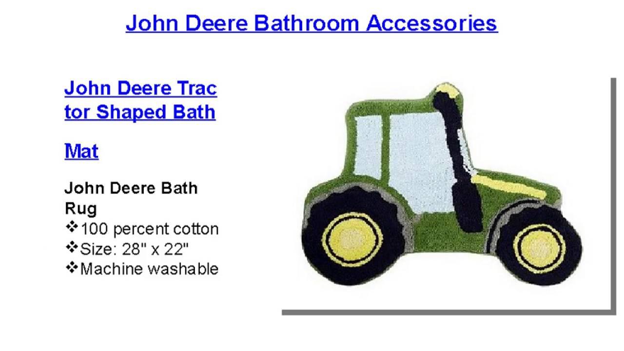 John deere bathroom