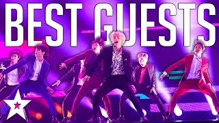 TOP 5 GUESTS On America's Got Talent! Including One Direction, BTS And MORE | Got Talent Global