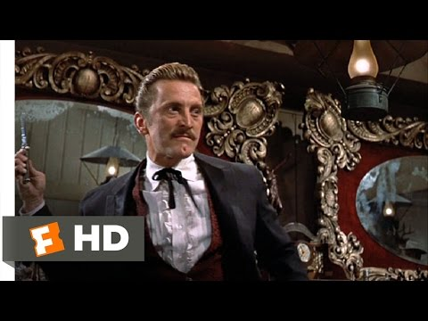 Gunfight at the O.K. Corral Movie Clip - watch all clips http://j.mp/wrPstC click to subscribe http://j.mp/sNDUs5 Doc Holliday (Kirk Douglas) enters a saloon...