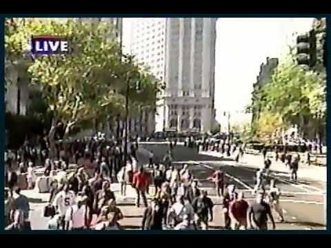 9/11/01 ABC New York Local A.M. Broadcast