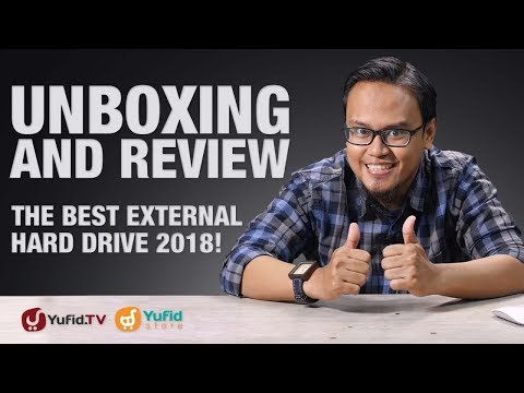 Unboxing and Review The Best External Hard Drive 2018 : Hardisk Eksternal Portable Yufid Vol. 1 - 3