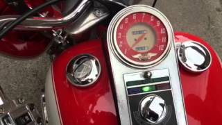 1975 Harley Davidson FLH shovel head start up