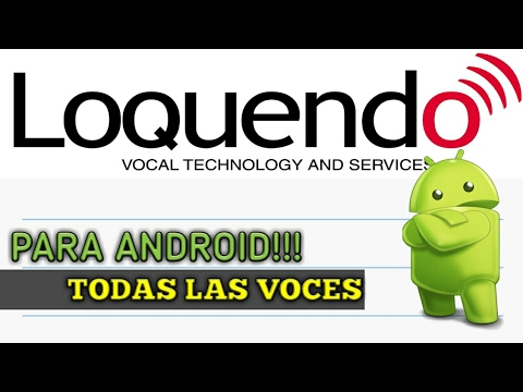 Скачать loquendo online - Android