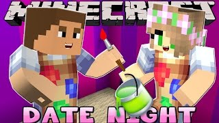 Minecraft - DATE NIGHT: MOVING INTO DONNYS CASTLE!