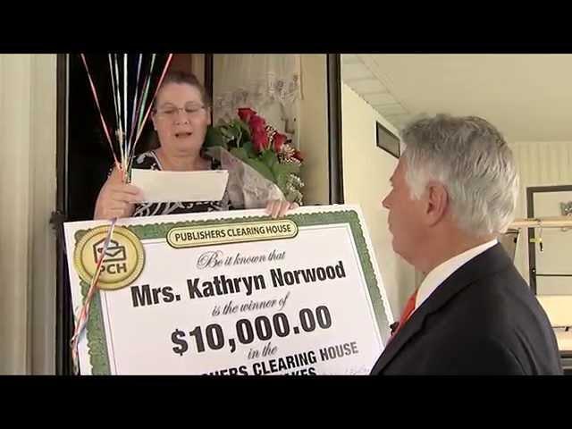 PCH $10,000 Winner: Kathryn Norwood