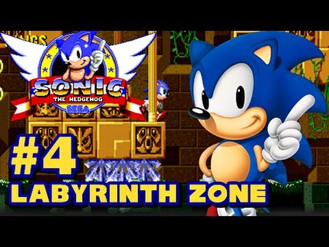 Sega - Sonic The Hedghog (Labyrinthe Zone)