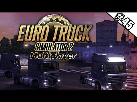 Euro Truck Simulator 2 Multiplayer #45 - Paketverlust beim Gewitter  ★ Let's Play ETS 2