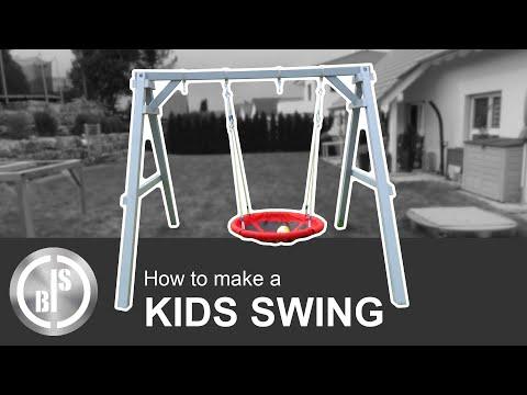 DIY Kids swing / Kinderschaukel selber bauen