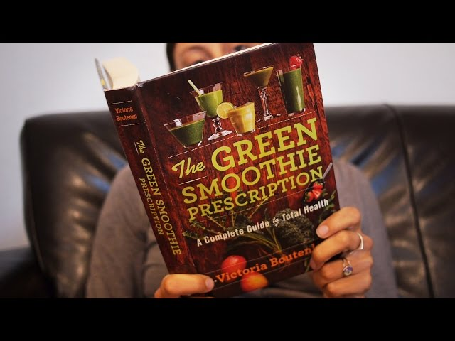 The Green Smoothie Prescription (a new book by Victoria Boutenko)