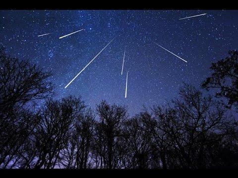 Perseid Meteor Shower 2014 Timelapse Hd Youtube
