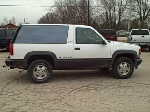 Dekalb Sycamore Chevy >> 1994 Chevy 1500 Blazer ONE TOUGH 4X4 BEST YEAR? - YouTube