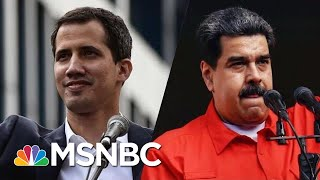 Maduro Cuts Relations With U.S. As Trump Recognizes Opposition Leader | Velshi & Ruhle | MSNBC