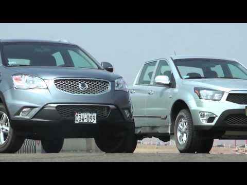 Road Test de la Actyon Sports y Korando 2012