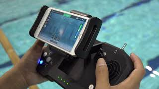 Underwater Hockey by BW Space Underwater Drone