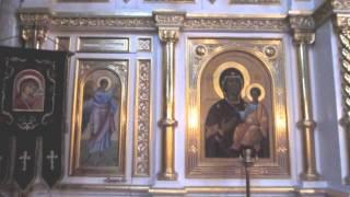 Константино-Еленинский женский монастырь в посёлке Рощино .