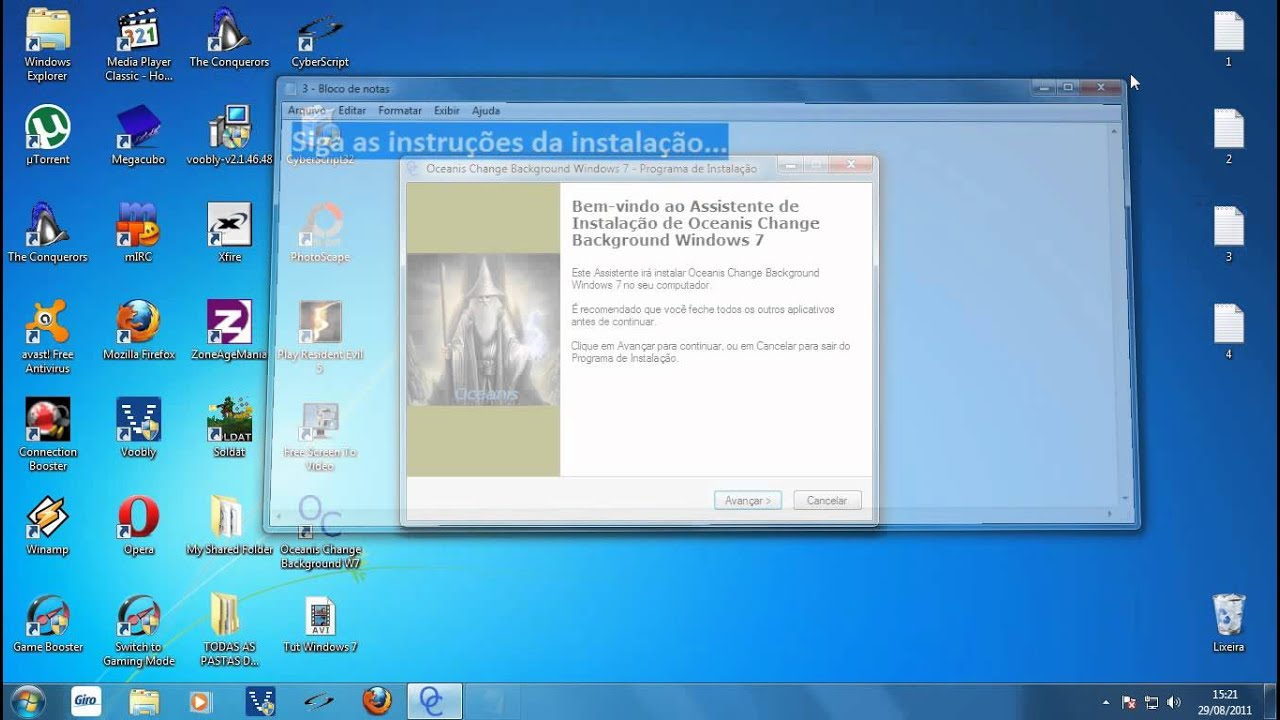 Como colocar papel de parede animado no windows 7 youtube - Cabinet radiologie pont de claix ...