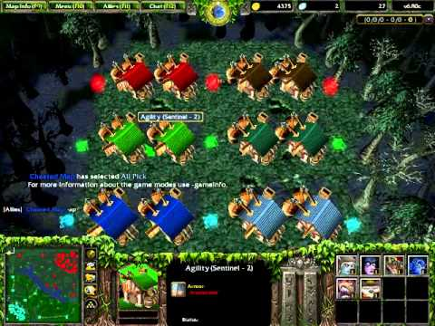 Dota 6 80c Cheated Map Download Demonstration Youtube