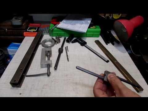 Нарезка метрической внутренней резьбы в дачной мастерской своими руками
