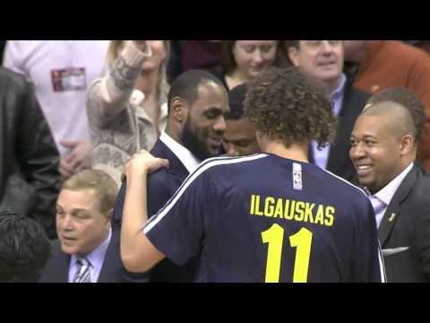 New York Knicks vs Cleveland Cavaliers   March 8, 2014   NBA 2013-14 Season