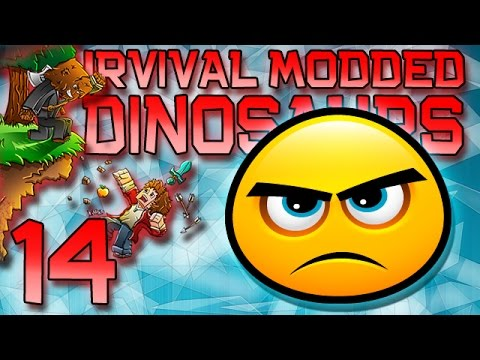 Minecraft: Modded Dinosaur Survival Let's Play W mitch! Ep. 14 - How To Build With Lag! video