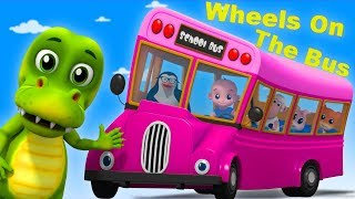 Wheels On The Bus | Junior Squad | Nursery Rhymes For Babies by Kids Tv