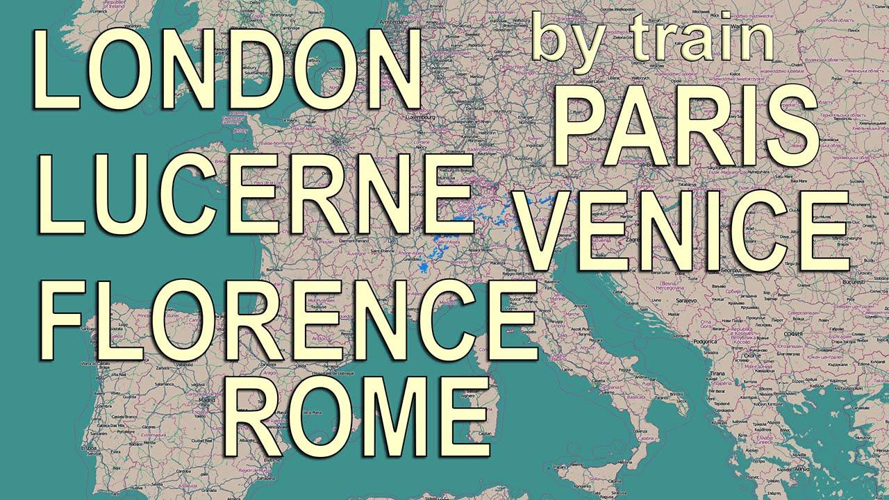 Venecia a las preguntas de tren Roma