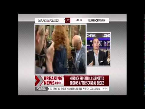 Rebekah Brooks Arrested - July 17, 2011