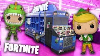 Fortnite Funko Pop Hunting | We Found The Battle Bus!