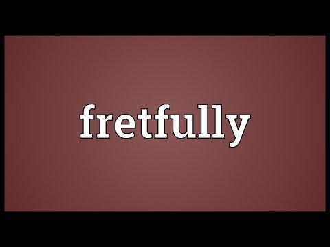 Header of fretfully