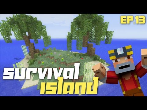 Minecraft Xbox 360: Hardcore Survival Island - Part 13! (Tree House!)