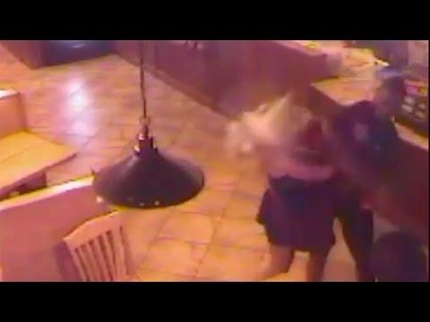 Shows Oklahoma Running Back Joe Mixon Punching Woman