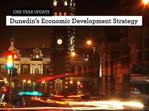 Dunedin's Economic Development Strategy's Year One Update -- Case Studies