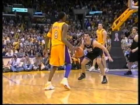 Shaq O'Neal 41 pts,17 reb,Kobe 31 pts,11 reb, playoffs 2002, lakers vs kings game 6