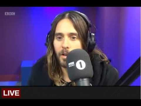 Jared Leto Radio 1 Breakfast Show 29 Jan 2014
