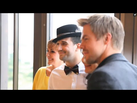 2014 Killick Klassik - Behind-the-Scenes with Shirley Ballas, Mark Ballas, & Derek Hough